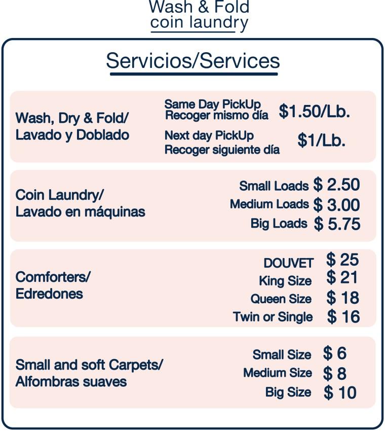 servicios precios